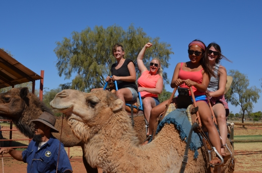 very first camel ride ... so much fun